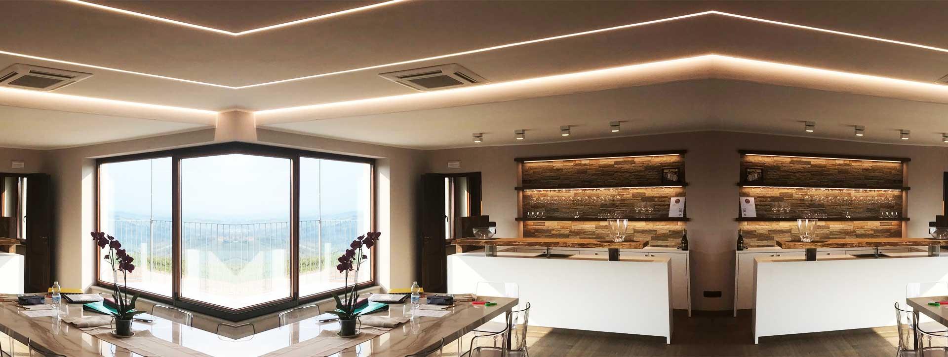 Sistemi Di Illuminazione A Led illuminazione a led di interni ed esterni » piemonte » cuneo