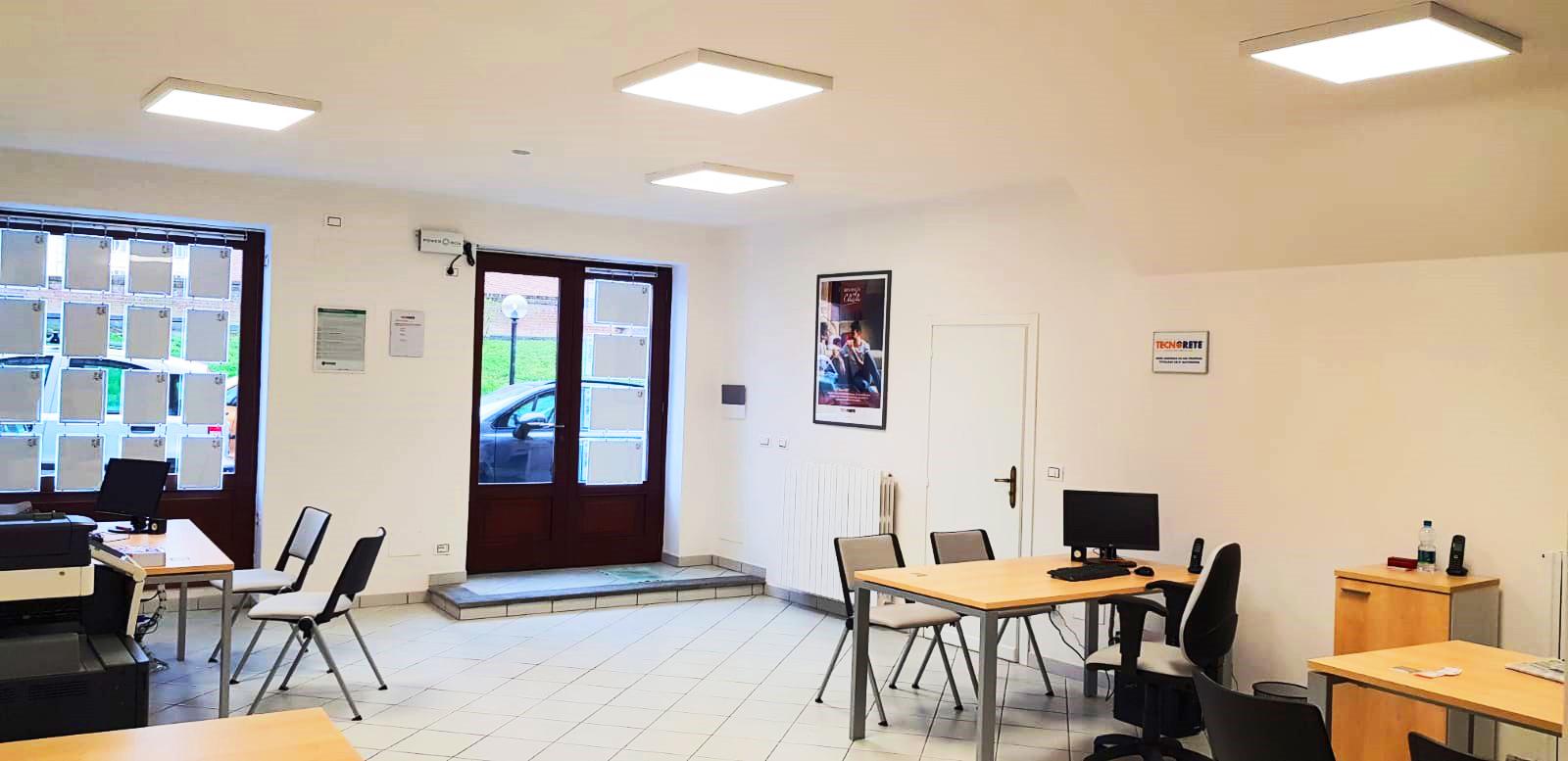 Illuminazione Salone Con Led illuminazione per strutture commerciali » piemonte » cuneo » bra