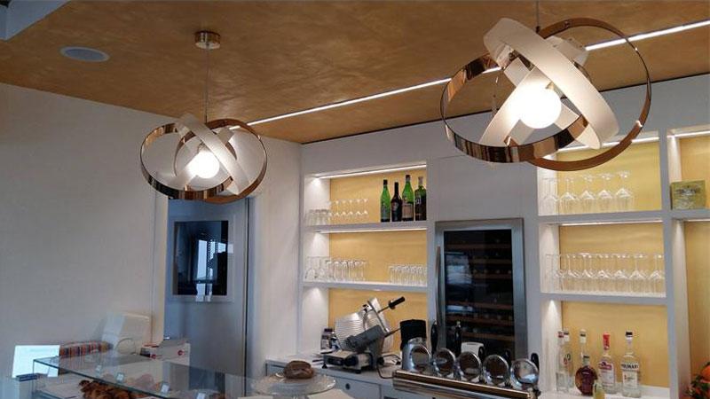Illuminazione per bar e ristoranti piemonte cuneo bra